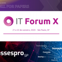 "IT Forum X, está com seu ""Call for papers"" ABERTO"